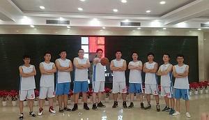 东豪建设集团工会成立篮球队