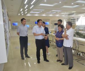 热烈欢迎外交部国外房屋管理局领导莅临东豪考察